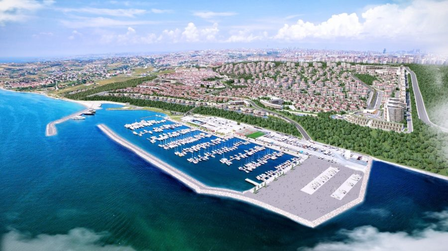 The largest marina in Turkey at Marmara sea | RSI-133