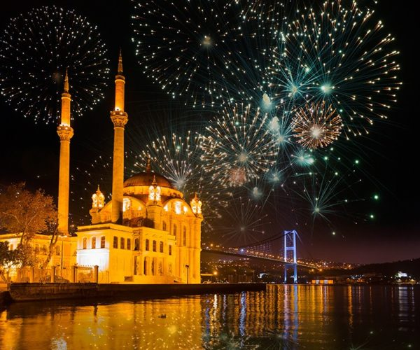 How does Turkey Greet the Eid?