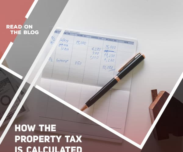 How the property tax is calculated